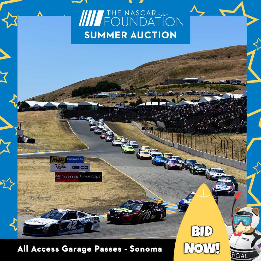 All Access Garage Passes at Sonoma!