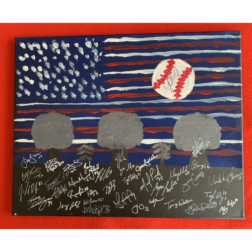 Photo of 2019 Twins Favorite Things Auction: Ryne Harper Painting