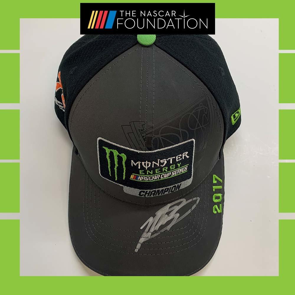 NASCAR's Martin Truex Jr. Autographed MENCS Champions Hat!