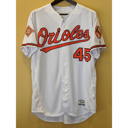 Photo of Mark Trumbo - Home Jersey: Team-Issued