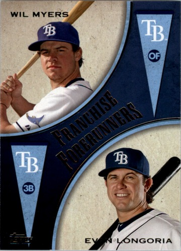 Photo of 2013 Topps Update Franchise Forerunners #5 Evan Longoria/Wil Myers