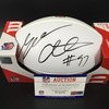 NFL - Bengals Geno Atkins Signed Panel Ball w/ 100 seasons logo