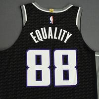 Nemanja Bjelica - Sacramento Kings - Game-Worn Statement Edition Jersey - 2019-20 NBA Season Restart with Social Justice Message
