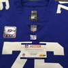 Crucial Catch - Giants Nate Solder Game Used Jersey W/ Captains Patch Washed By Equipment Manager (October 7th 2018)