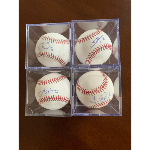 Photo of Starting Pitchers Baseballs