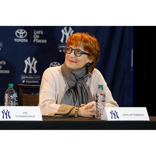 Photo of LOT #8: Zoom in with Jean Afterman, Senior Vice President and Assistant General Manager of the New York Yankees