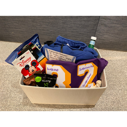 Photo of Clayton McCollough Favorite Things Basket