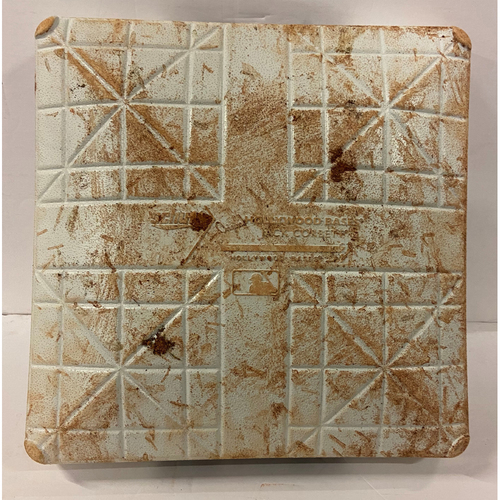 Photo of First Base Used Innings 7-9, 10/12/21 NLDS Game 4 - Freddie Freeman Home Run, Braves Win NLDS