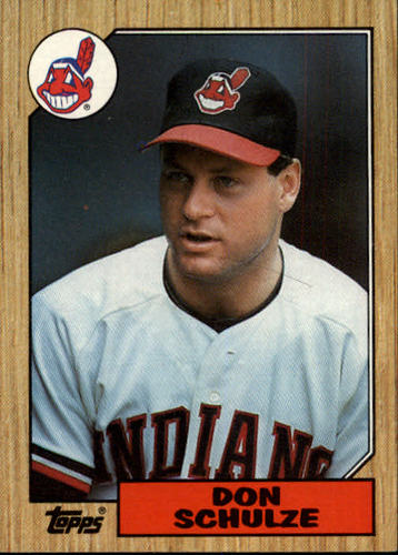 Photo of 1987 Topps #297 Don Schulze