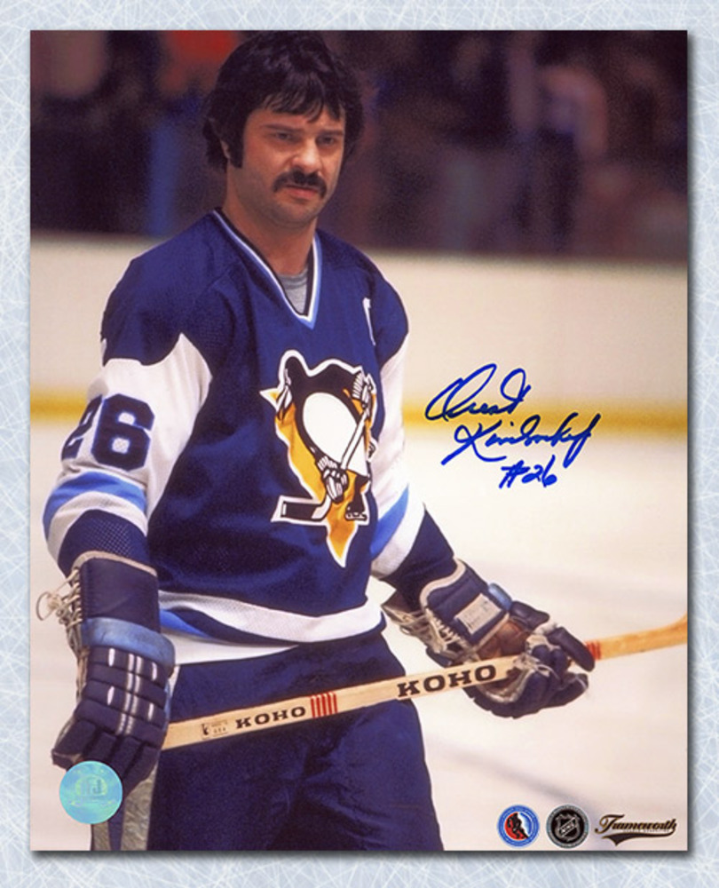 Orest Kindrachuk Pittsburgh Penguins Autographed 8x10 Photo