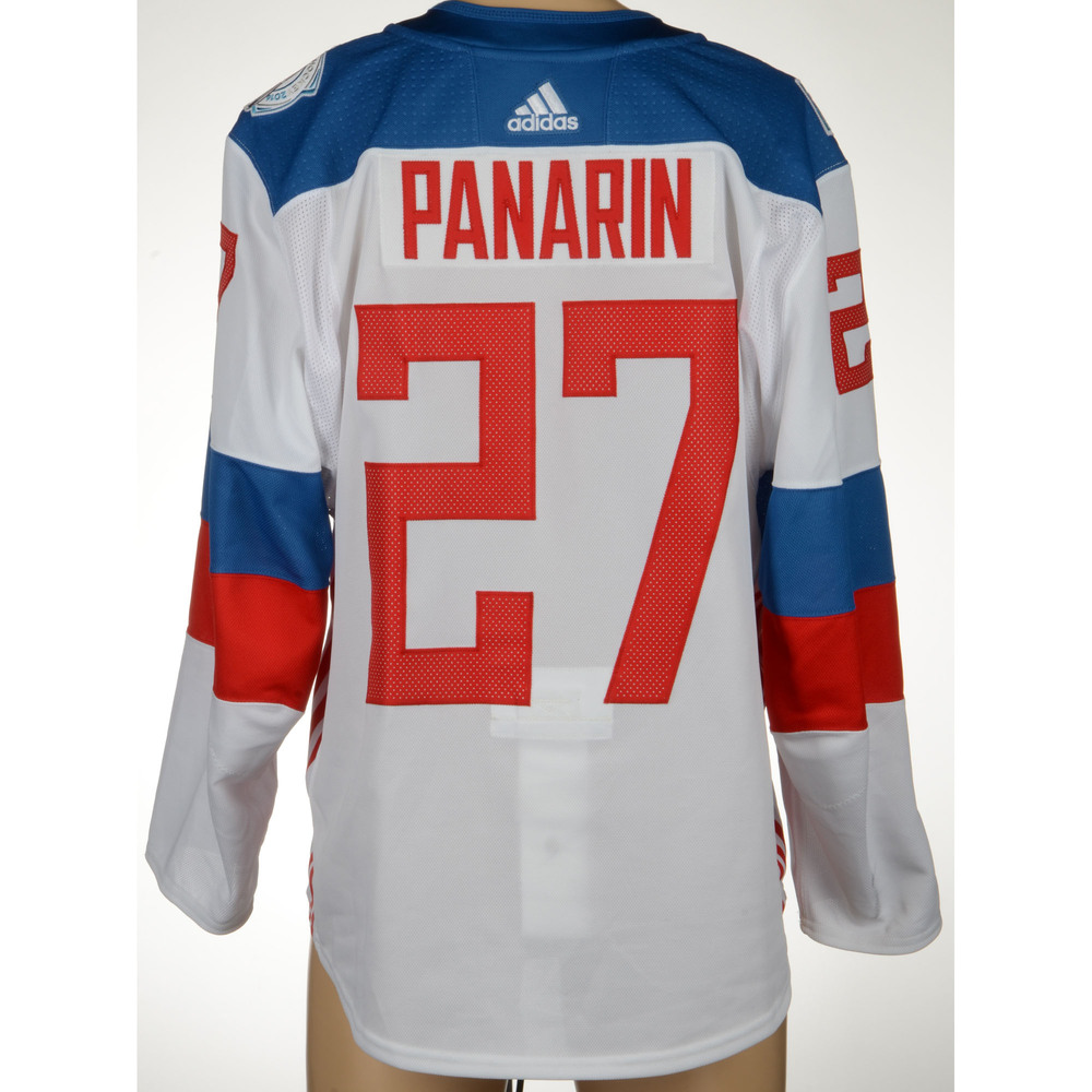 - Nhl America On Blackhawks Chicago 19th Artemi World Cup Game-worn 2016 Team Hockey Russia Against Panarin Of Jersey North Assist Auctions September