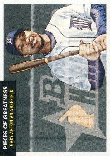 Photo of 2007 Bowman Heritage Pieces of Greatness #GS Gary Sheffield Bat B