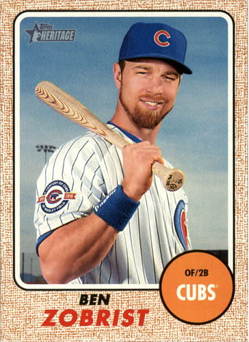 Photo of 2017 Topps Heritage #326 Ben Zobrist