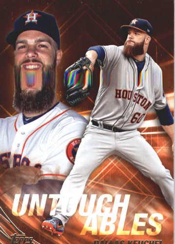 Photo of 2017 Topps Update Untouchables #U11 Dallas Keuchel