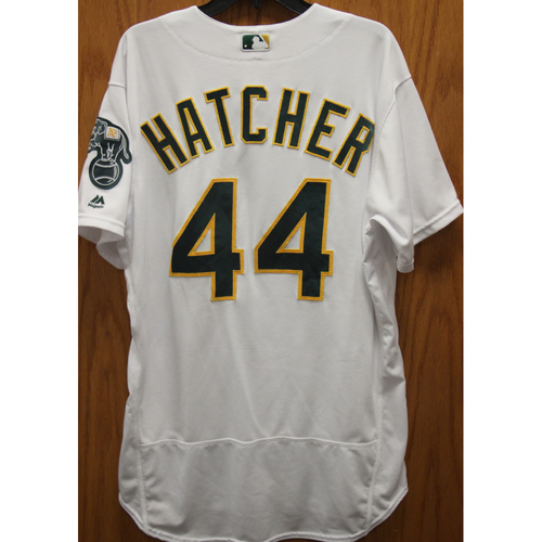 2017 Chris Hatcher Game-Used Jersey
