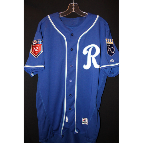 Photo of Team-Issued Spring Training Jersey: Alex Gordon (Size 46)