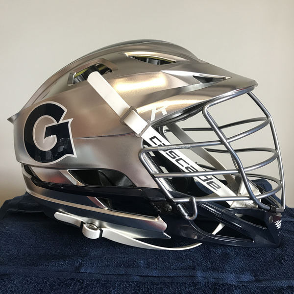 Photo of Georgetown Men's Lacrosse Helmet