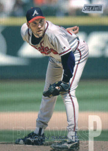 Photo of 2018 Stadium Club #149 John Smoltz