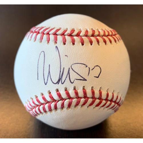 Giants Community Fund: Will Smith Autographed Baseball