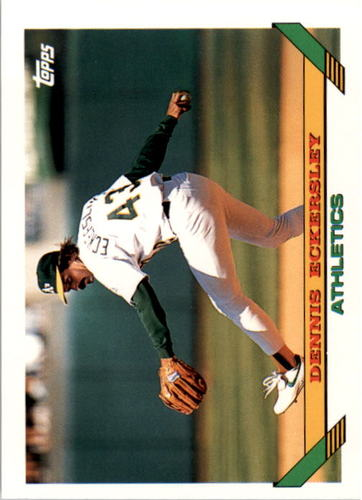 Photo of 1993 Topps #155 Dennis Eckersley