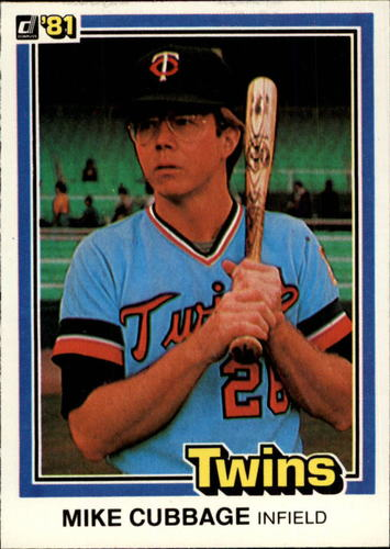 Photo of 1981 Donruss #492 Mike Cubbage