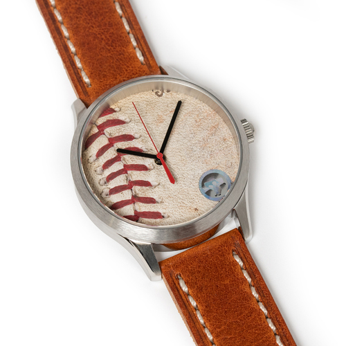 Photo of Tokens & Icons San Francisco Giants 2014 World Series Game Used Baseball Watch W/ Marks - Game 4
