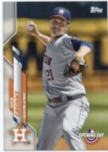Photo of 2020 Topps Opening Day #121 Zack Greinke
