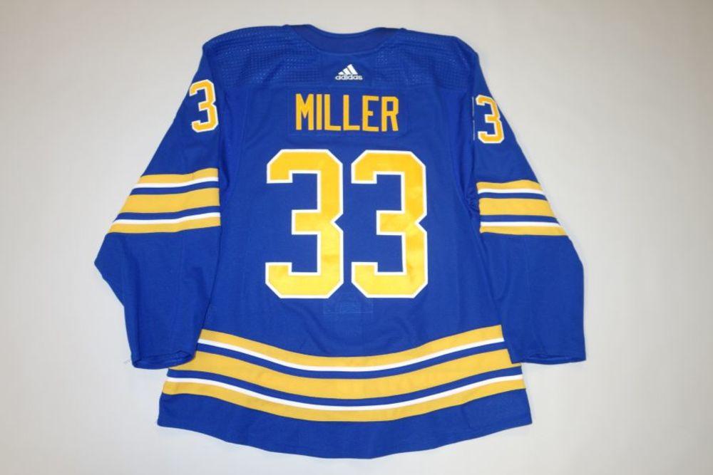 Colin Miller 2020-21 Buffalo Sabres Set 2 Home Jersey