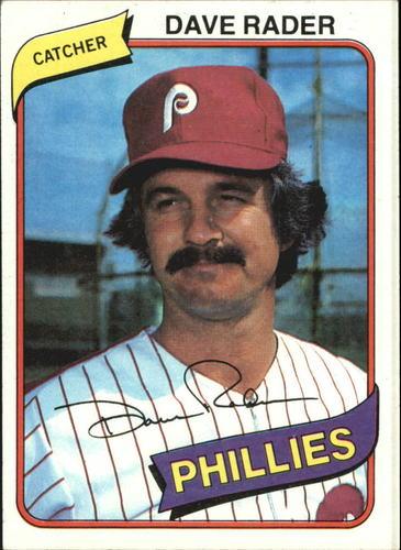 Photo of 1980 Topps #296 Dave Rader