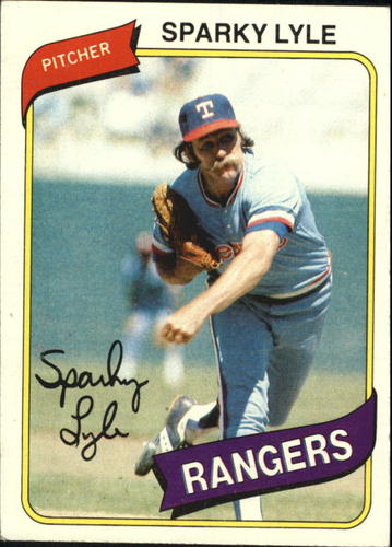 Photo of 1980 Topps #115 Sparky Lyle