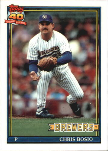 Photo of 1991 Topps Tiffany #217 Chris Bosio