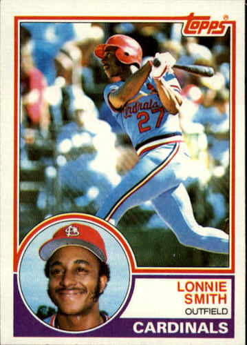 Photo of 1983 Topps #465 Lonnie Smith