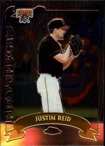 Photo of 2002 Topps Chrome Traded #T113 Justin Reid RC