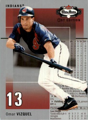 Photo of 2003 Fleer Box Score First Edition #85 Omar Vizquel
