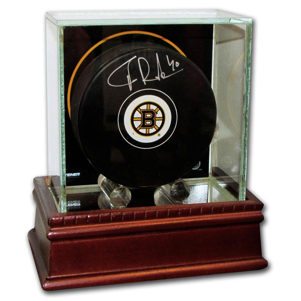 Tuukka Rask Autographed Boston Bruins w/Display Case
