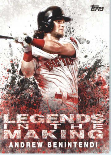 Photo of 2018 Topps Legends in the Making #LTMAB Andrew Benintendi