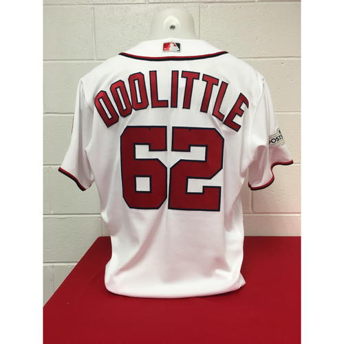 Photo of Game-Used Jersey: Sean Doolittle 2017 NLDS (Jersey Size - 48)