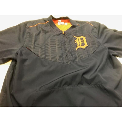 Photo of 2015 Road Batting Practice Jacket: Detroit Tiger #65