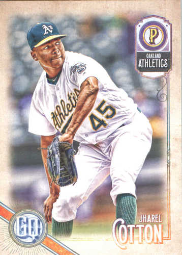 Photo of 2018 Topps Gypsy Queen #157 Jharel Cotton