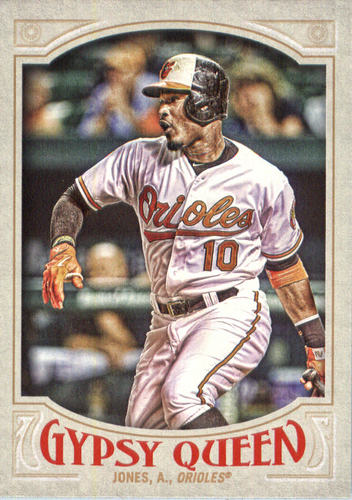 Photo of 2016 Topps Gypsy Queen #4 Adam Jones
