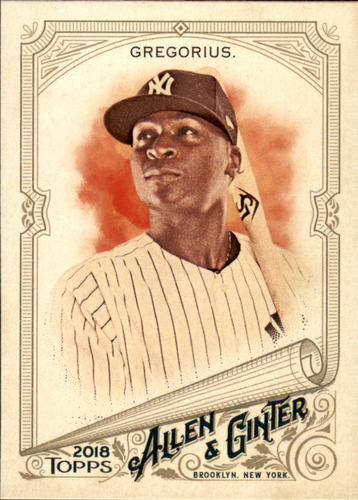 Photo of 2018 Topps Allen and Ginter #41 Didi Gregorius