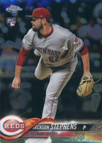 Photo of 2018 Topps Chrome #110 Jackson Stephens RC