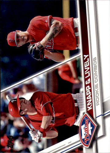 Photo of 2017 Topps Update #US160 Ben Lively RC/Andrew Knapp RC