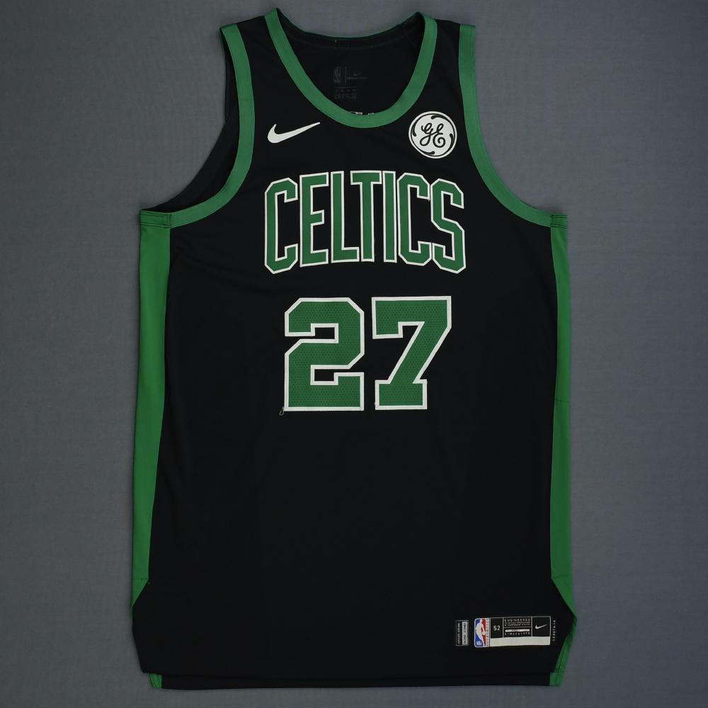 Daniel Theis - Boston Celtics - 2019 NBA Playoffs - Game-Worn Black Statement Edition Jersey