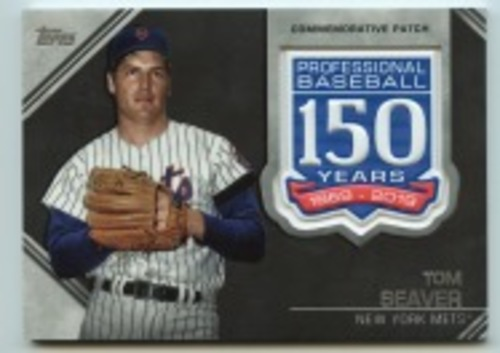 Photo of 2019 Topps Update 150th Anniversary Manufactured Patches #AMPTSE Tom Seaver