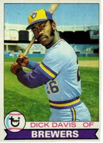 Photo of 1979 Topps #474 Dick Davis RC