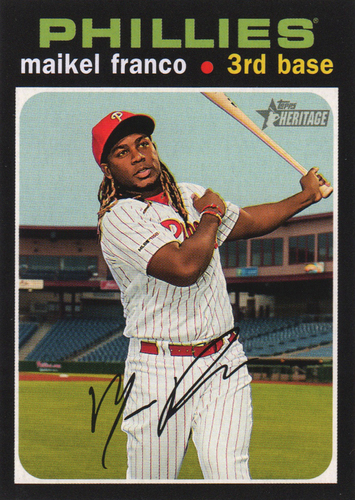 Photo of 2020 Topps Heritage #119 Maikel Franco