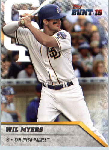 Photo of 2016 Topps Bunt #14 Wil Myers