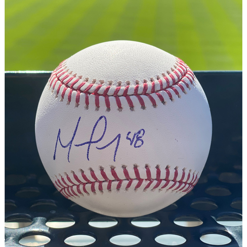 Photo of Colorado Rockies Autographed Baseball: German Marquez