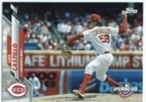Photo of 2020 Topps Opening Day #125 Luis Castillo